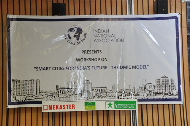 CoR WORKSHOP ON SMART CITIES FOR INDIA's FUTURE - THE DMIC MODEL