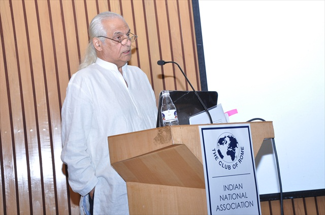 REMARKS ON URBAN SUSTAINABILITY BY Mr. ROMI KHOSLA, ARCHITECT & PLANNER / MEMBER CoR INDIA