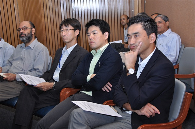 PARTICIPANTS FROM THE EMBASSY OF JAPAN (NEW DELHI) AT THE WORKSHOP